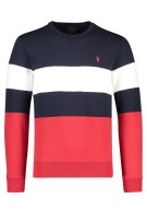 Polo Ralph Lauren Trui Rood Donkerblauw Wit Gestreept Normale fit