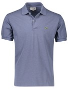 Poloshirt Lacoste grijsblauw classic fit