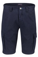Portofino cargo shorts Donkerblauw Normale fit