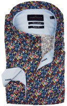 Portofino overhemd casual print  button down