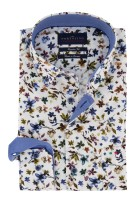 Portofino overhemd Regular Fit bloemen