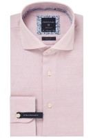 Profuomo mouwlengte 7 shirt rood oxford