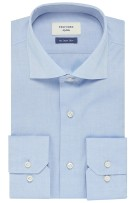 Profuomo Smart Shirt blauw pinpoint oxford Sky Blue