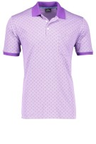 Ragman Polo Shirt Paars Print Normale fit