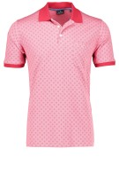 Ragman Polo Shirt Rood Print Normale fit