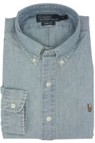 Ralph Lauren chambray overhemd denim slim fit