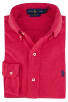 Ralph Lauren knitted overhemd rood button down