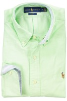 Ralph Lauren overhemd groen oxford slim fit