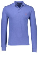 Ralph Lauren polo lange mouw faded royal heather