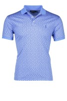 Ralph Lauren polo slim fit blauw print