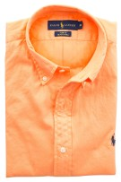 Ralph Lauren slim fit shirt oranje beach twill