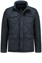 Reset jack donkerblauw quilted