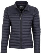 Reset Jas Donkerblauw Effen Normale fit