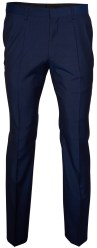 Roy Robson Blauw Effen Slim fit