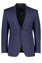 Roy Robson colbert mix & match Donkerblauw Effen Normale fit