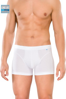 Schiesser boxershort wit long life cotton