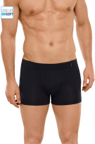 Schiesser Long Life Soft short donkerblauw