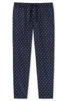 Schiesser pyjamabroek navy geprint
