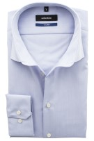 Seidensticker Tailored shirt lichtblauw mouwlengte 7