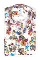 Shirt bloemenprint multicolor R2