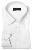 Shirt John Miller Ecru Tailored Fit