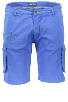 Shockly short cargo kobalt blauw