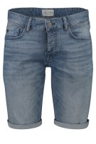 Short Cast Iron blauw denim
