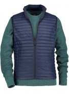 State of Art blauwe bodywarmer doorgesikt