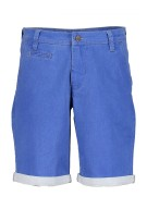 State of Art blauwe short katoen  stretch