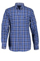 State of Art button down hemd blauw geruit