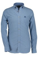 State of Art casual overhemd blauw motief