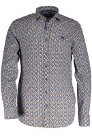 State of Art casual overhemd print blauw