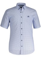 State of Art casual shirt korte mouw met stretch