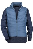 State of Art doorgestikte bodywarmer blauw