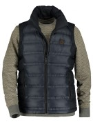 State of Art gewatteerde bodywarmer navy