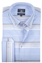 State of Art overhemd button down blauw