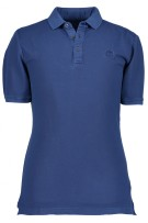 State of Art Polo Shirt Donkerblauw Effen Wijde fit