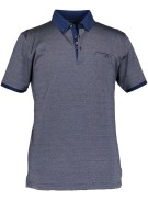 State of Art poloshirt regular fit  marineblauw ka