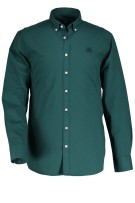State of Art shirt groen met  stretch