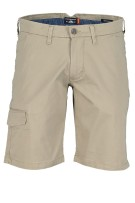 State of Art Short Beige Effen Wijde fit