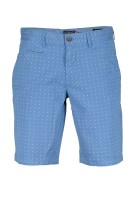 State of Art Short Blauw Print Wijde fit