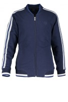 State of Art sweatvest navy met rits