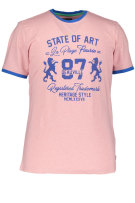 State of Art T-shirt Roze Print Wijde fit