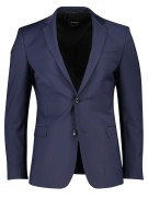 Strellson Kostuum mix & match Donkerblauw Effen Super slim fit