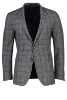 Strellson Kostuum mix & match Grijs Geruit Slim fit