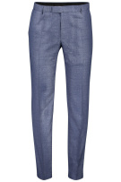 Strellson Pantalon mix & match Blauw Gemêleerd Slim fit
