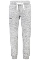 Superdry broek Orange Label jogger gemêleerd grijs