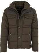 Superdry jas Tech Tweed legergroen