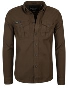 Superdry Rookie Ottoman shirt groen