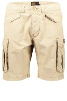 Superdry Short Beige Effen Normale fit